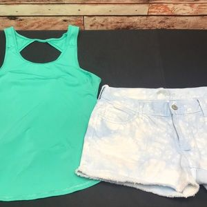American Eagle too small & Old Navy Shorts 4 A-53